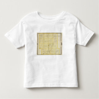 Map of Monona County, State of Iowa Toddler T-shirt