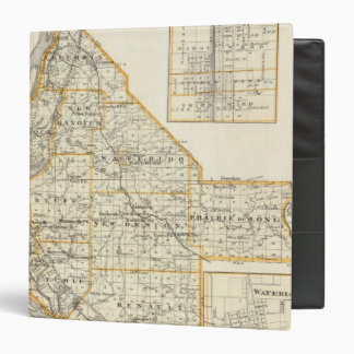 Map of Monroe County, DuQuoin and Waterloo Binder