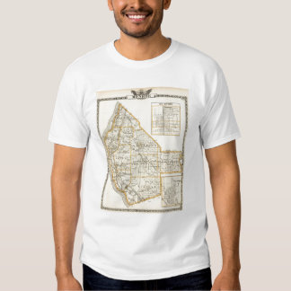 Map of Monroe County, DuQuoin and Waterloo Shirt