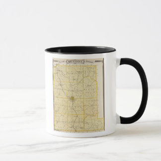 Map of Monroe County Mug