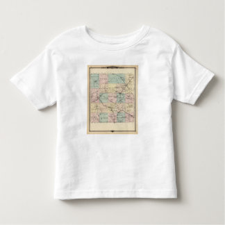 Map of Monroe County, State of Wisconsin Toddler T-shirt