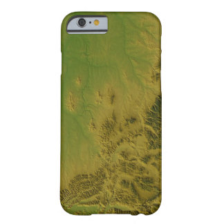 Map of Montana Barely There iPhone 6 Case