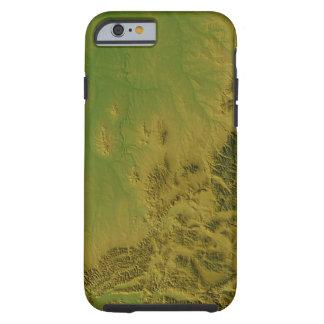 Map of Montana Tough iPhone 6 Case