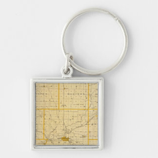 Map of Montgomery County Keychain