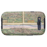Map of Montpellier, Tours, and Poitiers, from 'Civ Samsung Galaxy SIII Cover