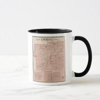 Map of Morgan County with Mooresville Mug
