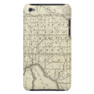 Map of Morris's Purchase or West Geneseo iPod Case-Mate Case