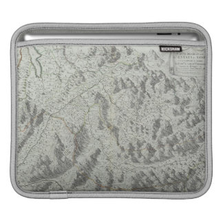 Map of Mountains iPad Sleeves
