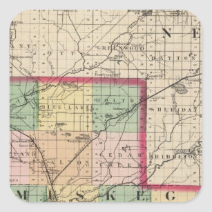 Muskegon Michigan Map Gifts On Zazzle