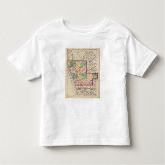 Map of Muskegon County, Michigan Toddler T-shirt