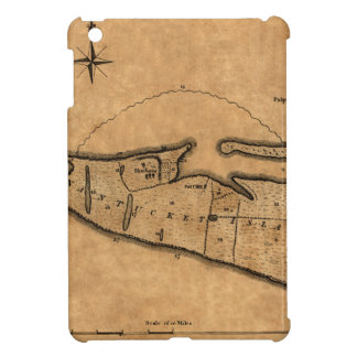 Map of Nantucket 1782 Case For The iPad Mini