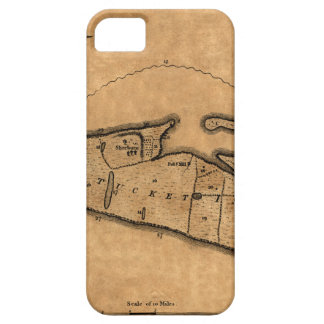 Map of Nantucket 1782 iPhone SE/5/5s Case