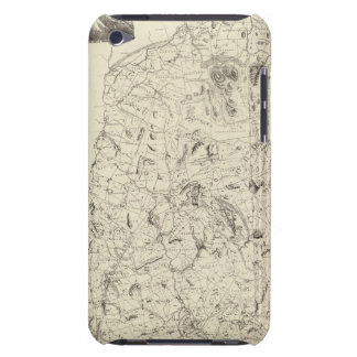 Map of New Hampshire 1816 Barely There iPod Case