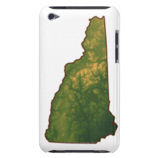 Map of New Hampshire 2 iPod Touch Case-Mate Case