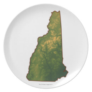 Map of New Hampshire 2 Plates