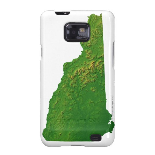 Map of New Hampshire Samsung Galaxy SII Cover