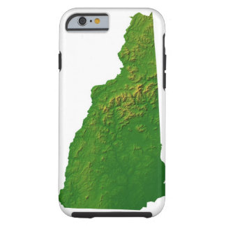 Map of New Hampshire Tough iPhone 6 Case