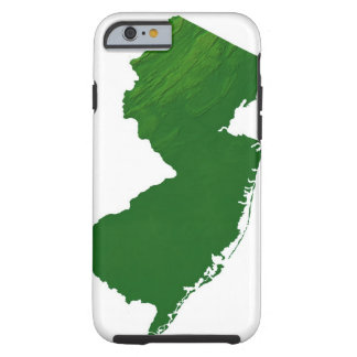 Map of New Jersey 2 Tough iPhone 6 Case