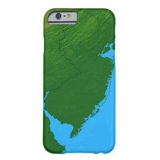 Map of New Jersey Barely There iPhone 6 Case