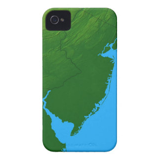 Map of New Jersey Case-Mate iPhone 4 Case