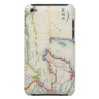 Map of New Orleans and Adjacent Country iPod Touch Case