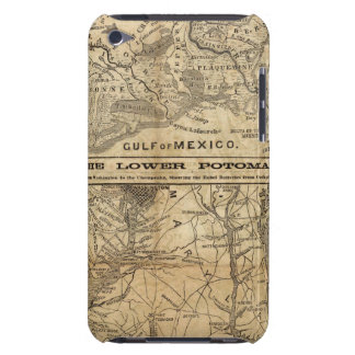 Map of New Orleans and Surrounding Country iPod Touch Case