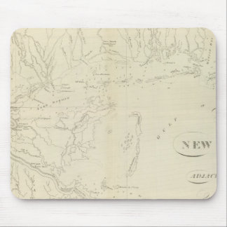 Map of New Orleans Mouse Pad