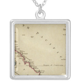 Map of New South Wales Personalized Necklace