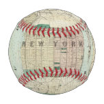 Map of New York and Vicinity Baseball