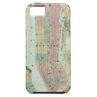 Map of New York and Vicinity iPhone SE/5/5s Case