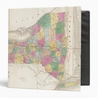 Map of New York Binders