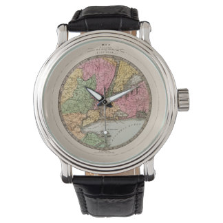 Map of New York Watch