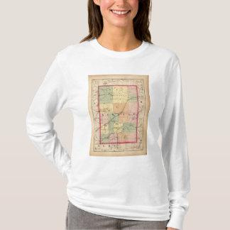 Map of Newaygo County, Michigan T-Shirt
