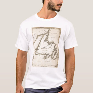 Map of Newfoundland T-Shirt