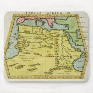 Map of North Africa, c.1580s (coloured engraving) Mouse Pad
