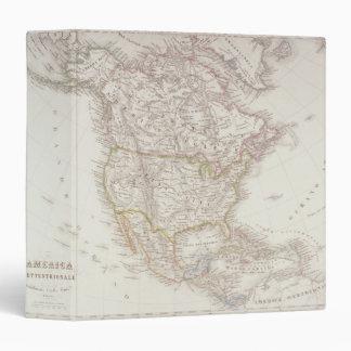 Map of North America 2 Binder