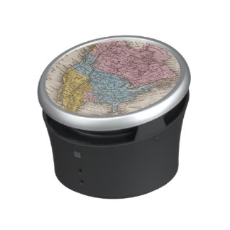 Map of North America 2 Bluetooth Speaker