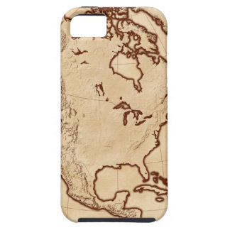 Map of North America 2 iPhone 5 Case