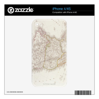 Map of North America 2 Skins For The iPhone 4S