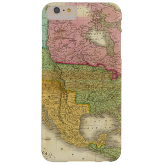 Map of North America 3 Barely There iPhone 6 Plus Case