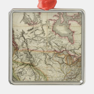 Map of North America 4 Ornaments