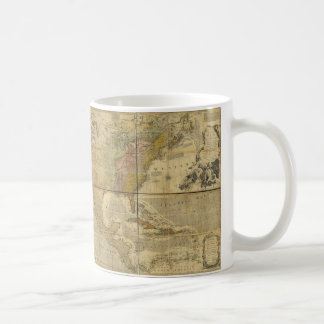 Map of North America by Emanuel Bowen (1755) Coffee Mug