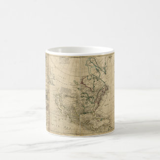 Map of North America by Herman Moll (1715) Classic White Coffee Mug
