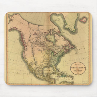 Map of North America by John Cary (1811) Mouse Pad