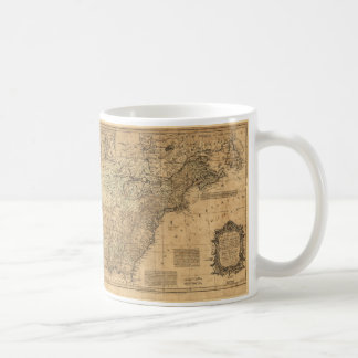 Map of North America by Thomas Kitchin (1755) Coffee Mug