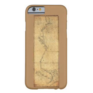 Map of North America Cape Cod to Havannah (1784) Barely There iPhone 6 Case