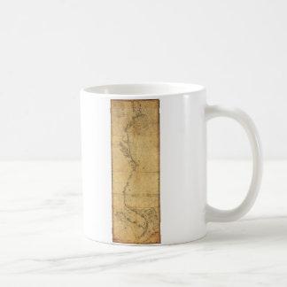 Map of North America Cape Cod to Havannah (1784) Coffee Mug