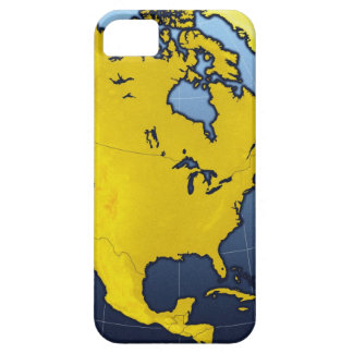 Map of North America iPhone 5 Case