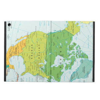 Map of North-America Case For iPad Air