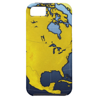 Map of North America iPhone SE/5/5s Case